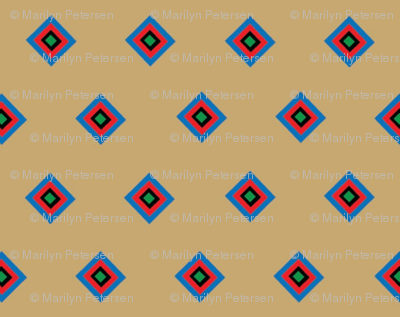 Tan Indian Companion Squares