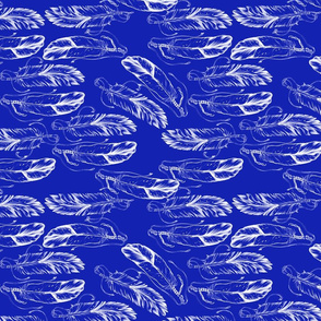 FEATHERS-blueDRK