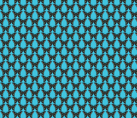 BUTTERFLY-deco fabric by iesza-jessica on Spoonflower - custom fabric