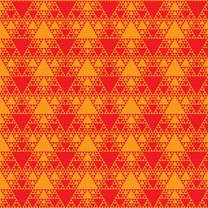 Sierpinski Triangle - Warm