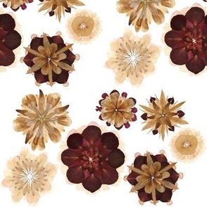 Flower Petal Mandala Blooms