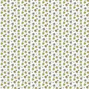 Hiboux vert