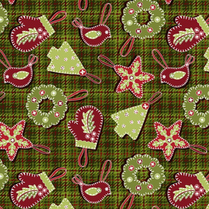 Handmade Christmas Ornmanets