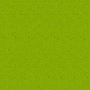 Coeurs vert