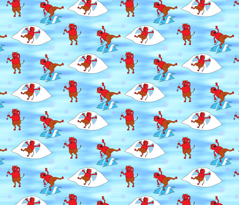 Frozen Over fabric by will_la_puerta on Spoonflower - custom fabric