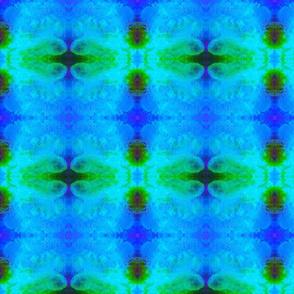 Seashell Affair-green/blue