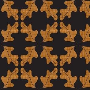 Oak Leaf Mirror Pattern