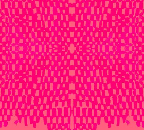 cestlaviv_grand_snake20xpinkonpink fabric by cest_la_viv on Spoonflower - custom fabric