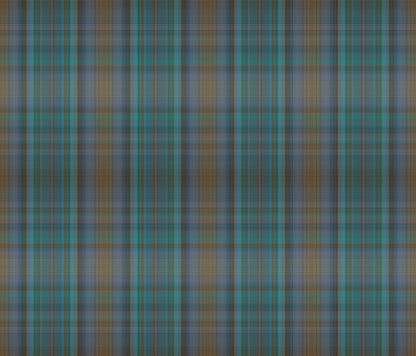 Pixel Plaid  fabric by anniedeb on Spoonflower - custom fabric