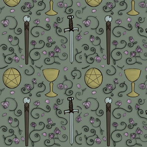 Tarot fabric