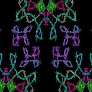 Fabric kolam