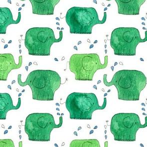 thousands of little green elephants-ed