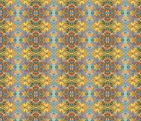 Flake Dusk fabric by albanianflower on Spoonflower - custom fabric