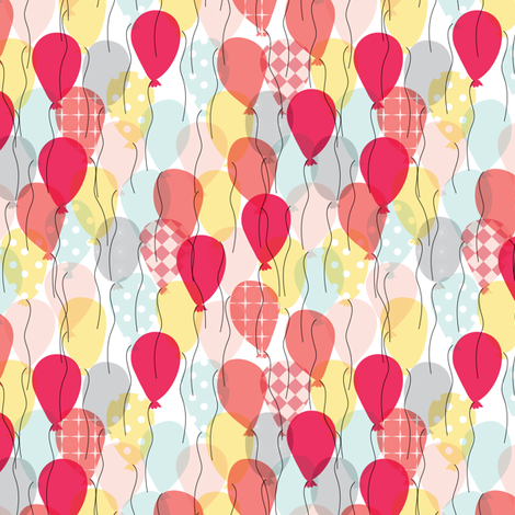 134 - Lets Celebrate! fabric by witee on Spoonflower - custom fabric
