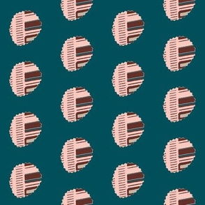 Batik Polka Dot Mauve