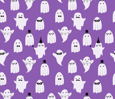 Ghost Costume Party fabric by abbyg on Spoonflower - custom fabric
