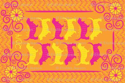 Sunny Bassets 2014 Calendar