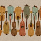 2018 Instrument Calendar  - Vintage
