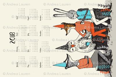 2018 Garden Party Calendar