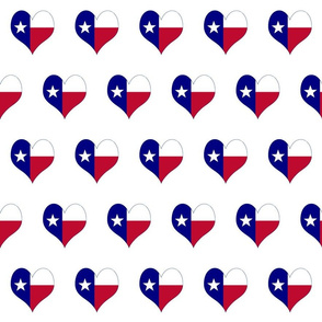 Texas Map Heart