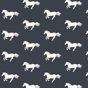 White Pony Charcoal