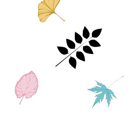 LEAVES fabric by raelin on Spoonflower - custom fabric