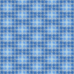 blue metal plaid