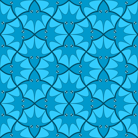 squid 4g X fabric by sef on Spoonflower - custom fabric