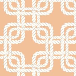 Rope squares orange