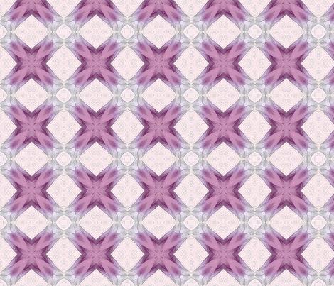 pink crosses fabric by koalalady on Spoonflower - custom fabric
