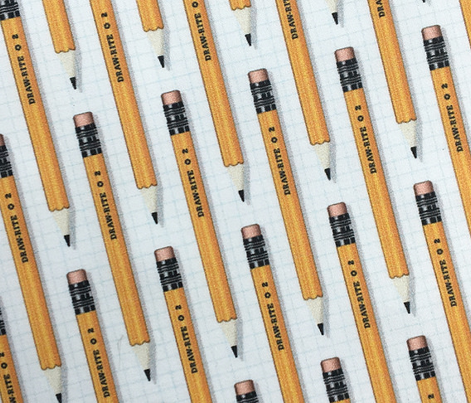 No. 2 Pencil* || writing art drawing school office supplies graph paper geek nerd math science