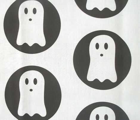 Spooky Polka White