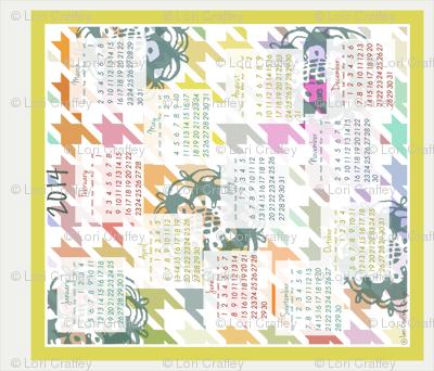 Colorful Colendar 2014