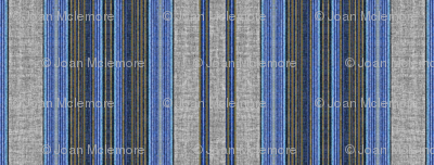 Denim stripe linen texture