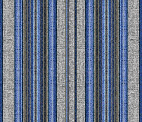 Denim stripe linen texture  fabric by joanmclemore on Spoonflower - custom fabric