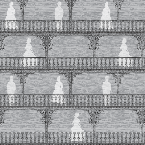 Ghosts of the Southern Past fabric by audsbodkin on Spoonflower - custom fabric