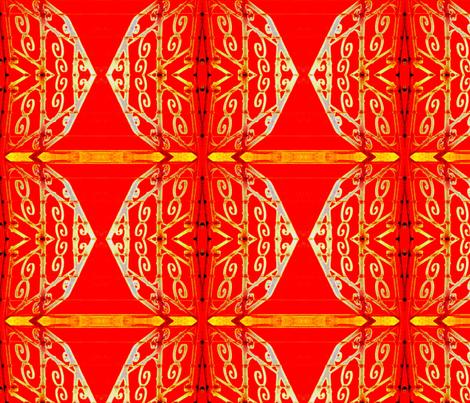 New Year celebration miamaria fabric by miamaria on Spoonflower - custom fabric
