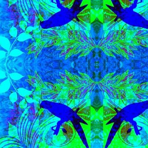 Tropical Pandimonium Blue