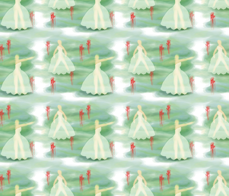 Ghost fabric by ponino on Spoonflower - custom fabric