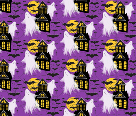 Spooky fabric by jjtrends on Spoonflower - custom fabric