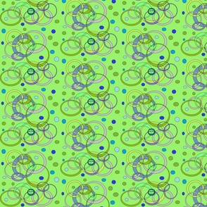 BlueGreenCirclesandDots(Green)