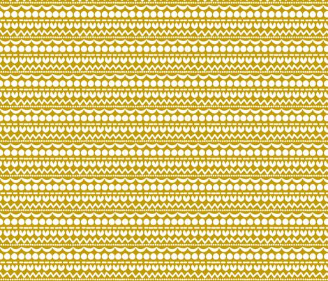 Holidays Mustard fabric by natitys on Spoonflower - custom fabric