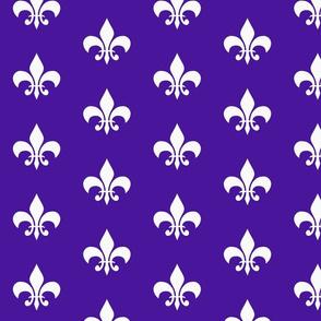 single_fleur_de_lis_purple