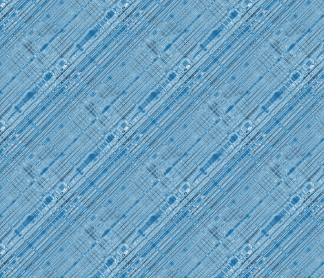 Blue Plasma Bias Stripes fabric by missourah_gal on Spoonflower - custom fabric