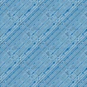 Blue Plasma Bias Stripes