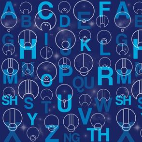 Gallifreyan Alphabet