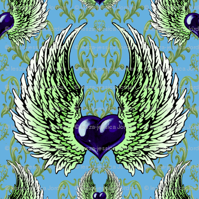 LOVE-blue