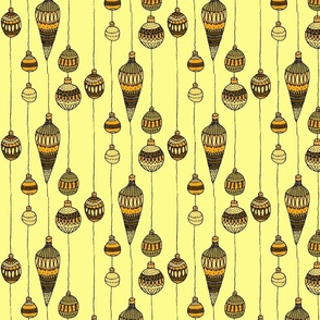 golden baubles