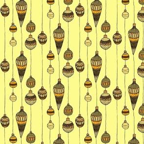 golden baubles
