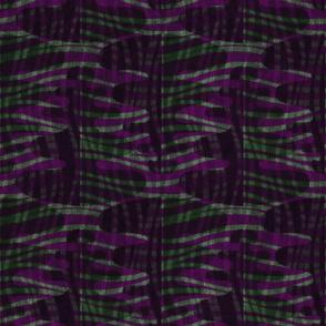 leafy weave midnight